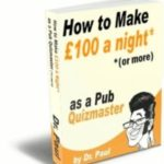 Dr Paul's 'How-To' Quizmaster Manual