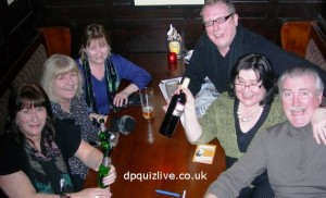 Edinburgh pub quiz team, TEAM WITH NO NAME