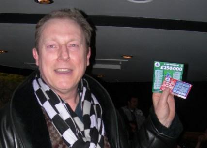 Stewart wins four quid!