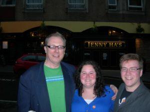winners at Jenny Ha's pub quiz, Edinburgh, Monday night at 7pm
