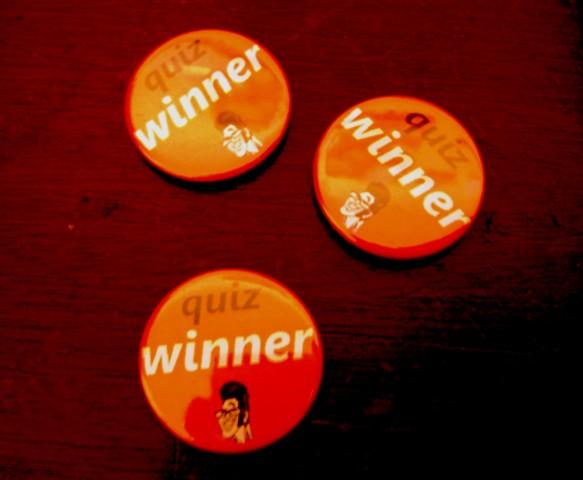 dp quiz winner badges