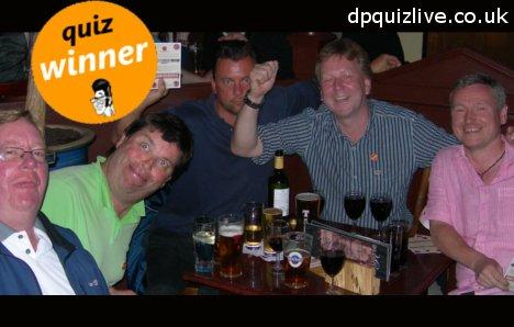 pub quiz winners