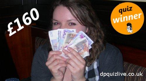 Katy wins £160