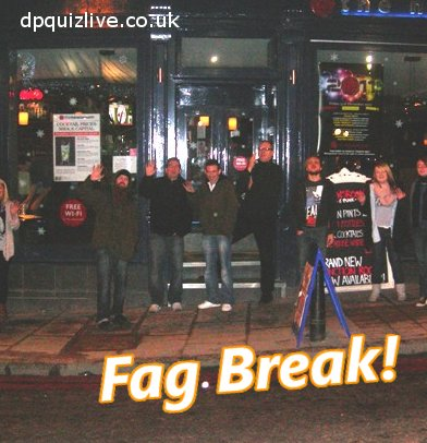 Dr Paul Quiz official Fag Break