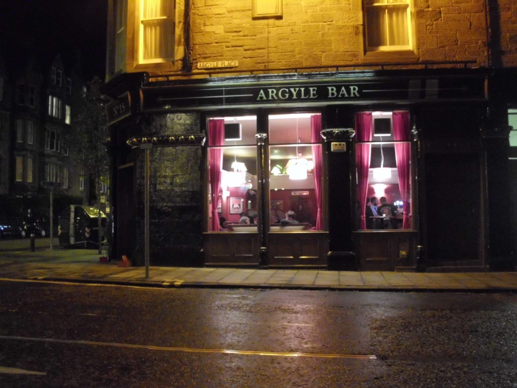 The Argyle Bar and Cellar Monkey