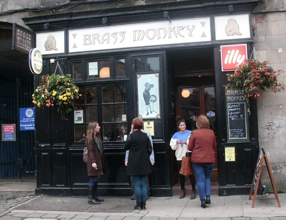 The Brass Monkey on Drummond Street