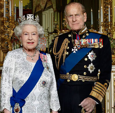 queen and prince philp