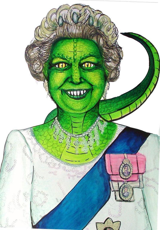 The Queen Is A Lizard