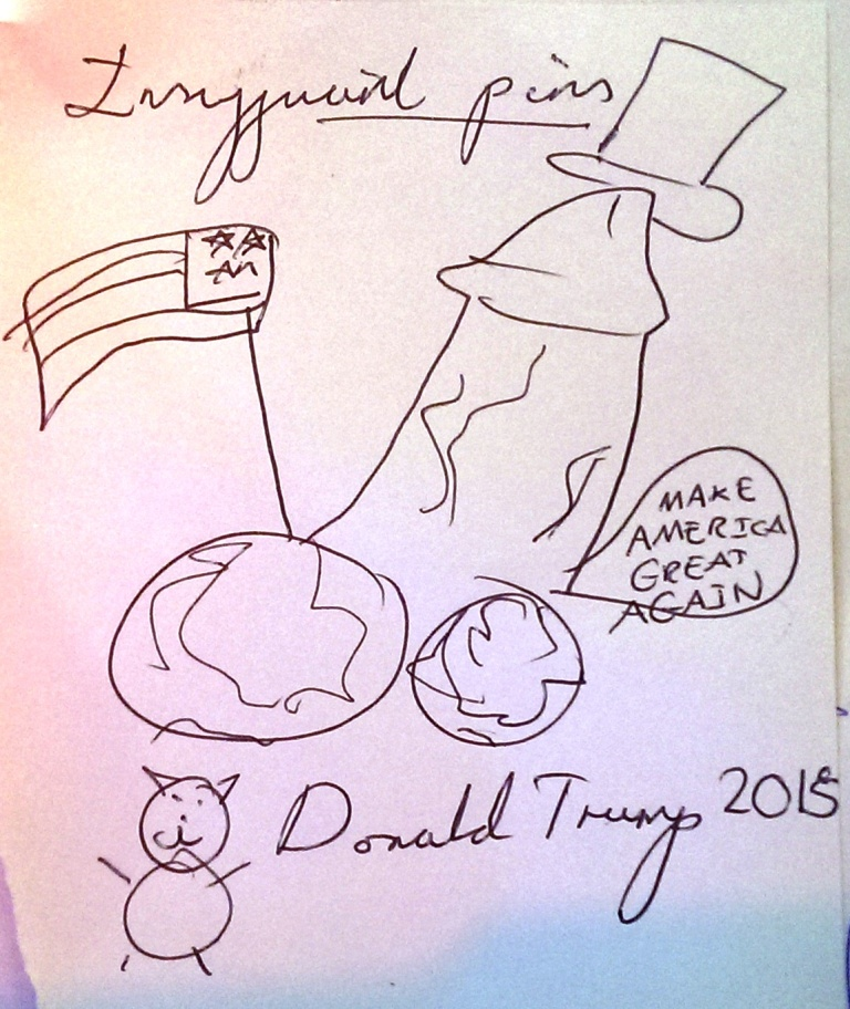 drawing contest - donald trump riding an animal (10)