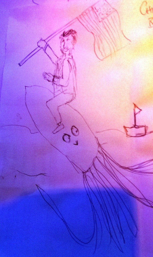 drawing contest - donald trump riding an animal (4)