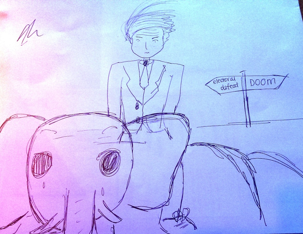 drawing contest - donald trump riding an animal (8)
