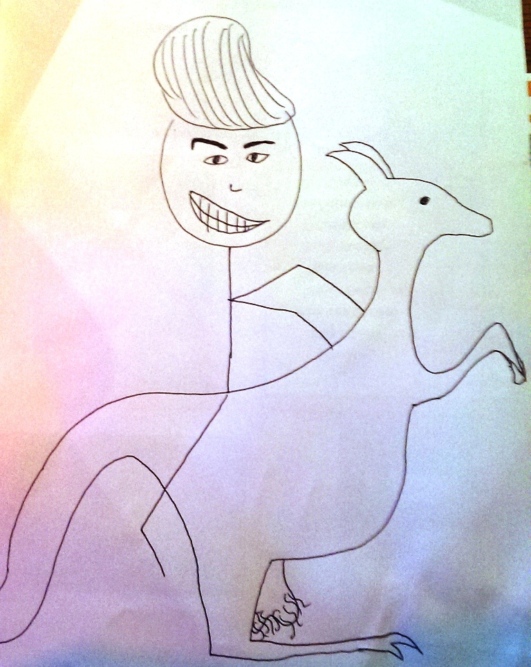 drawing contest - donald trump riding an animal (9)