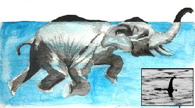 _nessie elephant theory