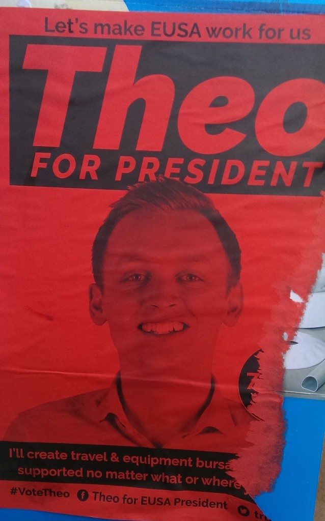 edinburgh uni election posters THEO