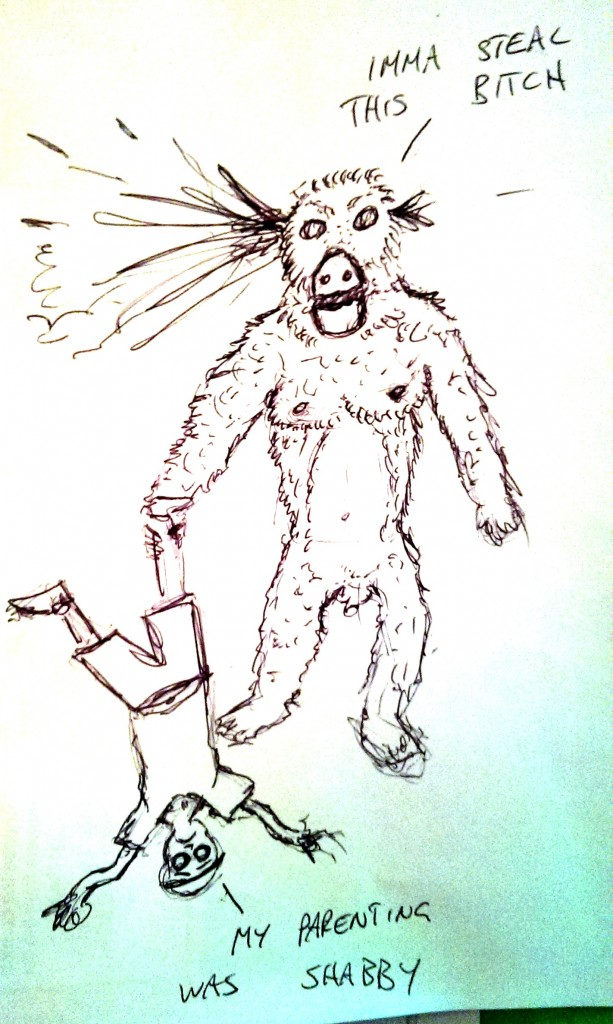 drawing gorilla death8