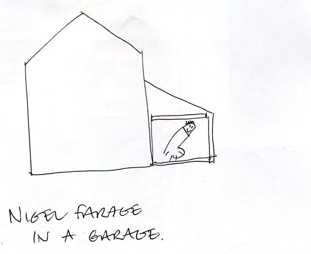 drawing contest nigel farage in a garage (2)