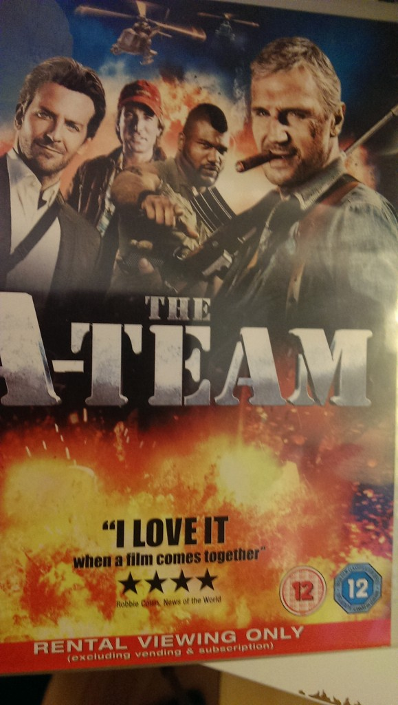 prize ateam dvd