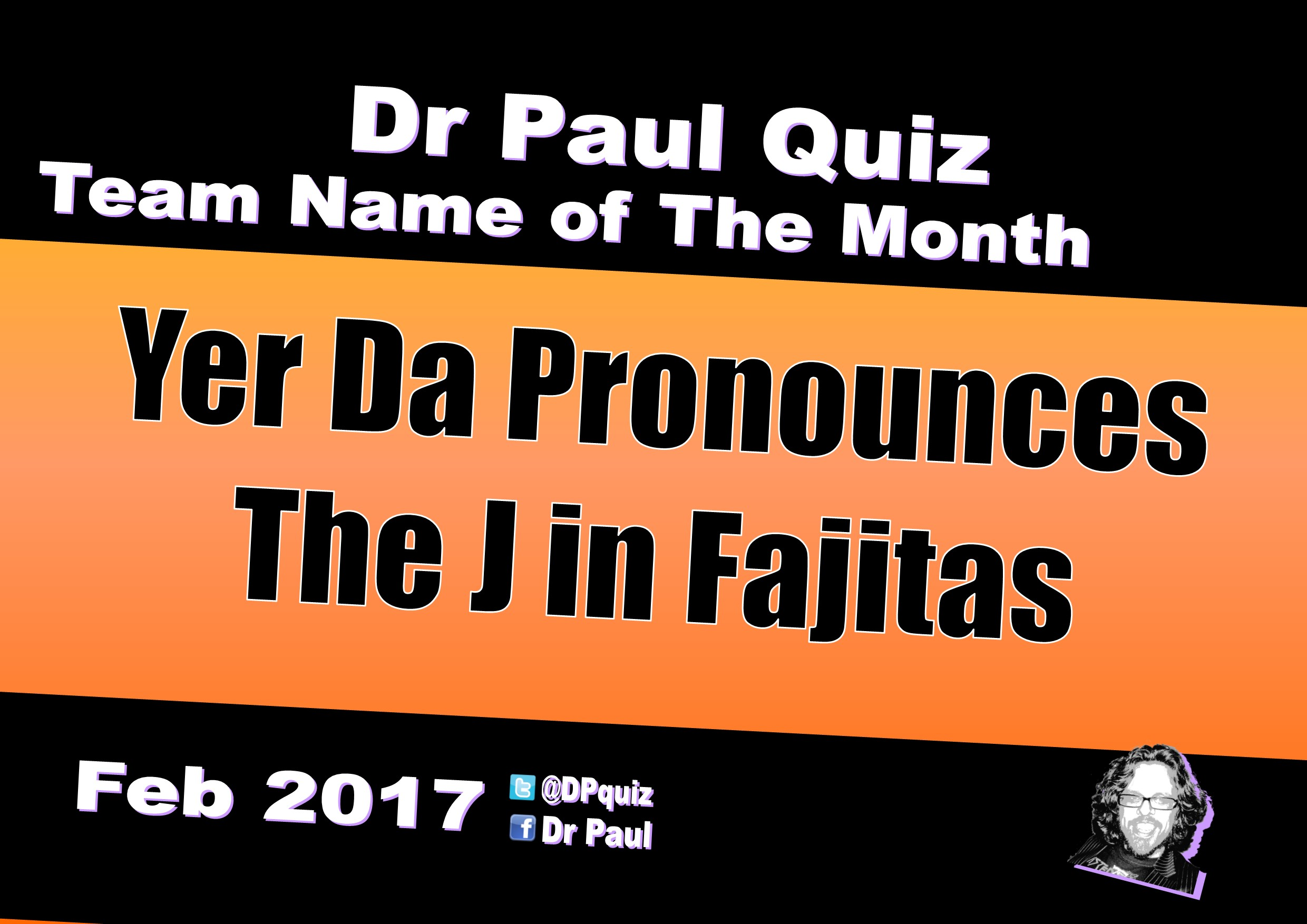 dpquiz team name of the month 2017