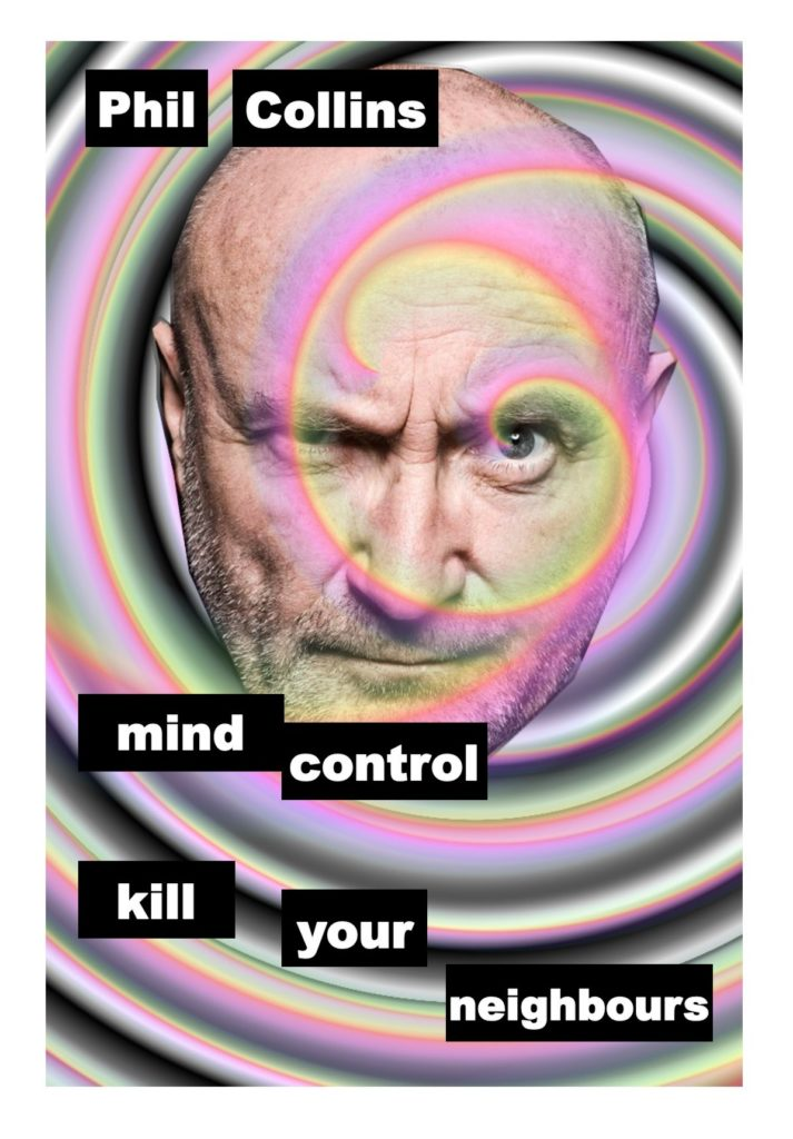 phil collins mind control kill your neighbours