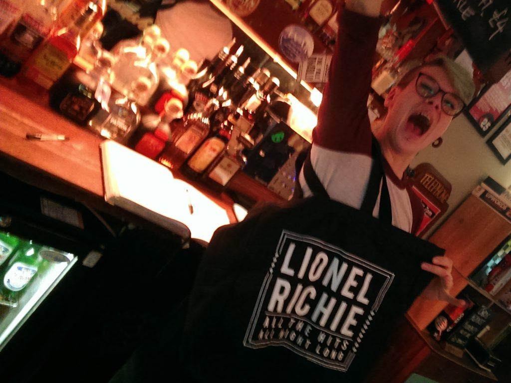 lionel richie prize bag