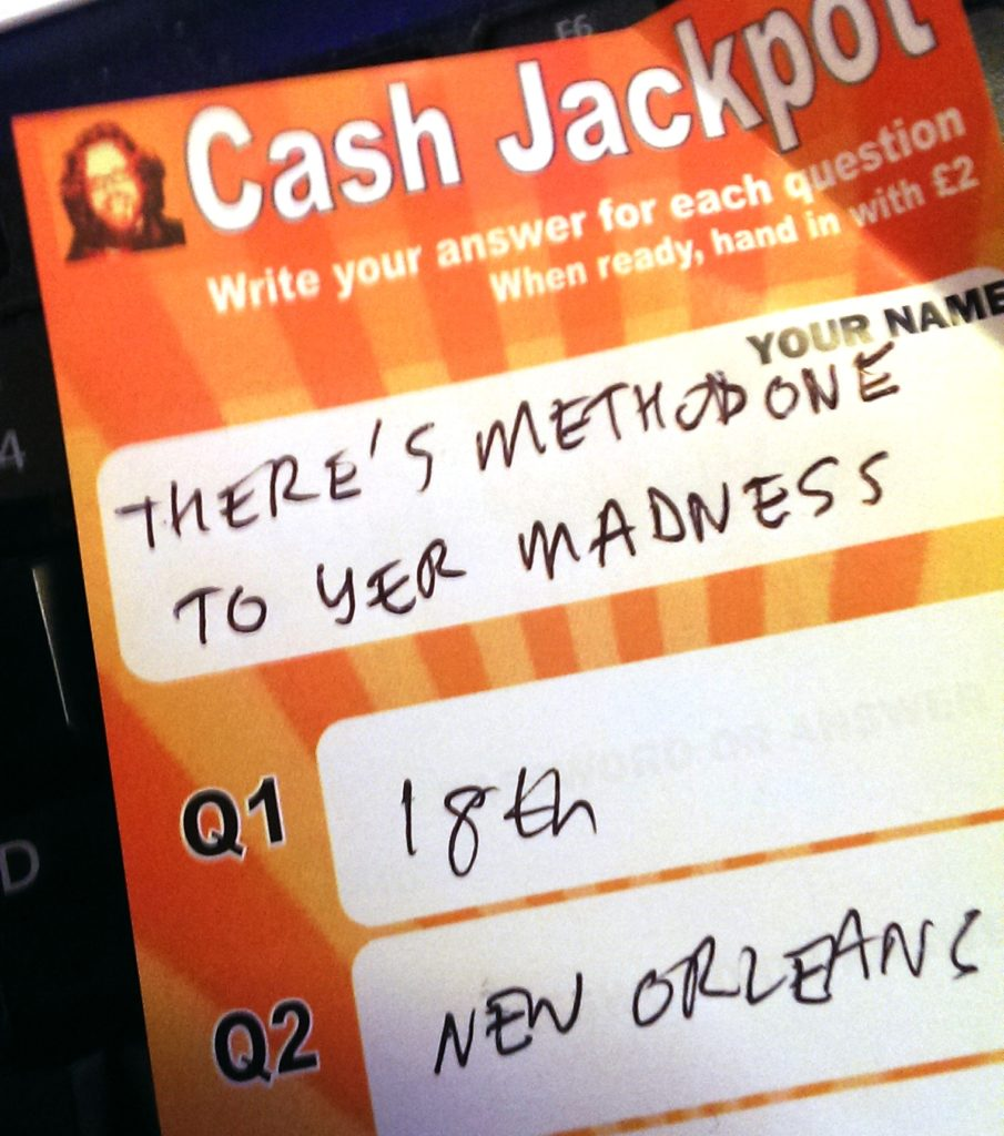 team name methadone madness