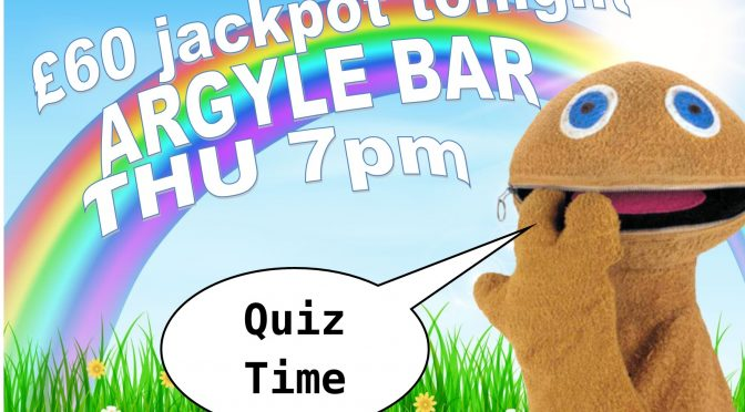 Thursday Night Quiz Action In Edinburgh