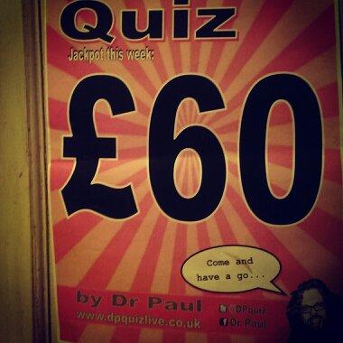 DP Quiz Live   The Latest from Edinburgh Quizmaster Dr Paul
