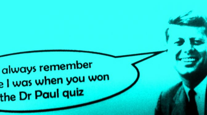 Tonight – Come and Win The Quiz