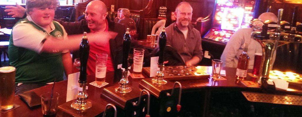 Blue Fox Tuesday Pub Quiz Champs
