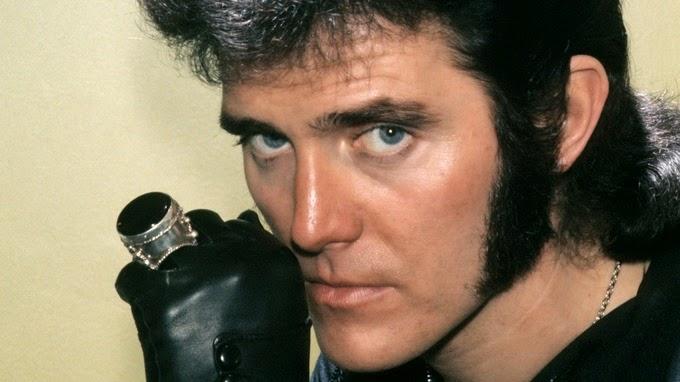 Alvin Stardust and his ring
