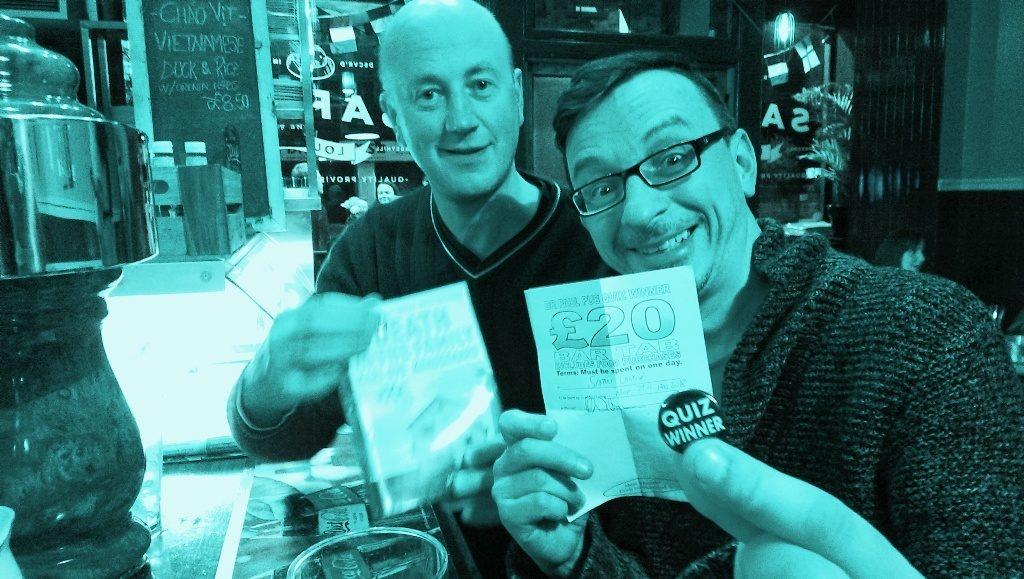 Safari lounge victors with quiz badge