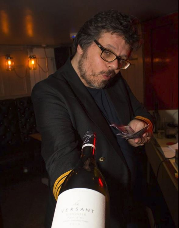 Dr Paul with booze prize