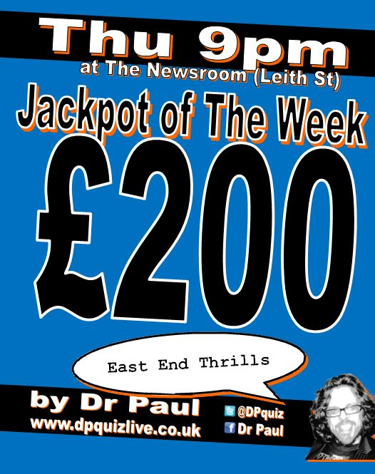 £200 at the Newsroom tonight