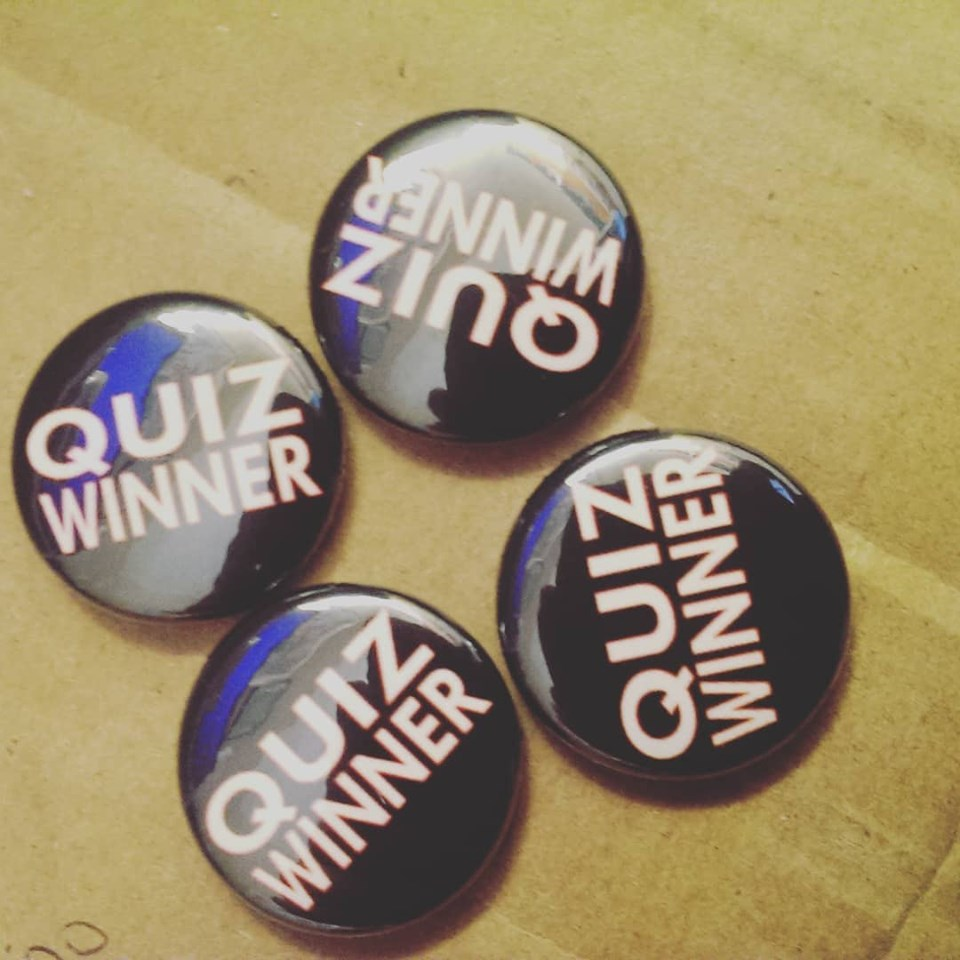 quiz winner badges