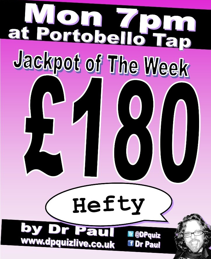 £180 at Porty Tap