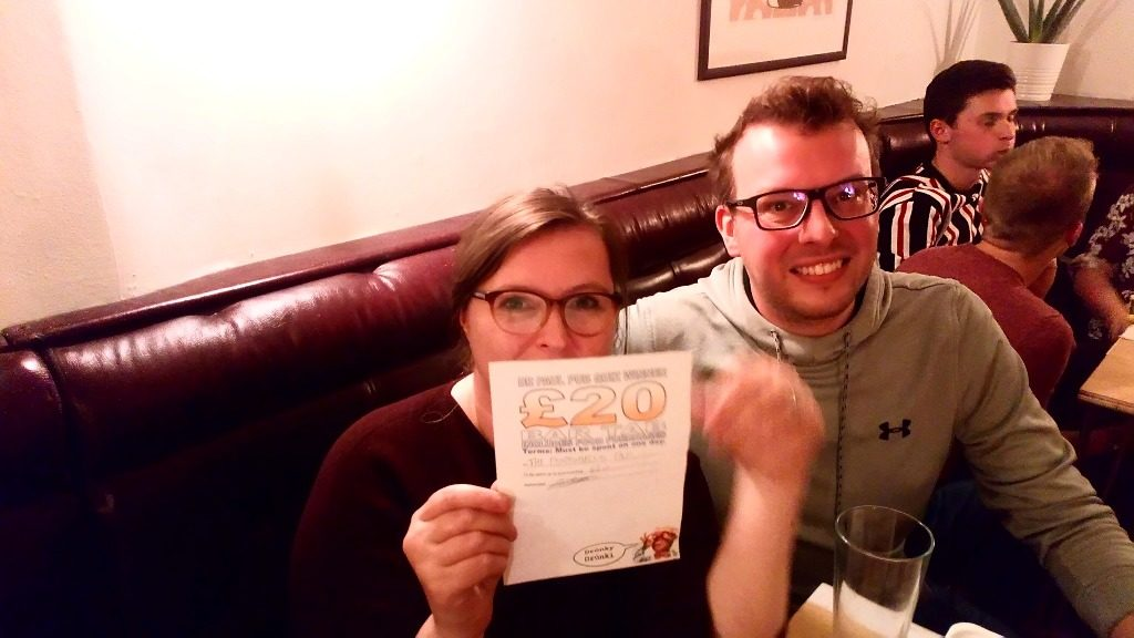 Winners at The Portobello Tap