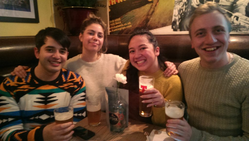 Team Unhhh win the last Brass Monkey Leith quiz of 2019