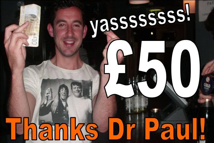 £50 man thanks me