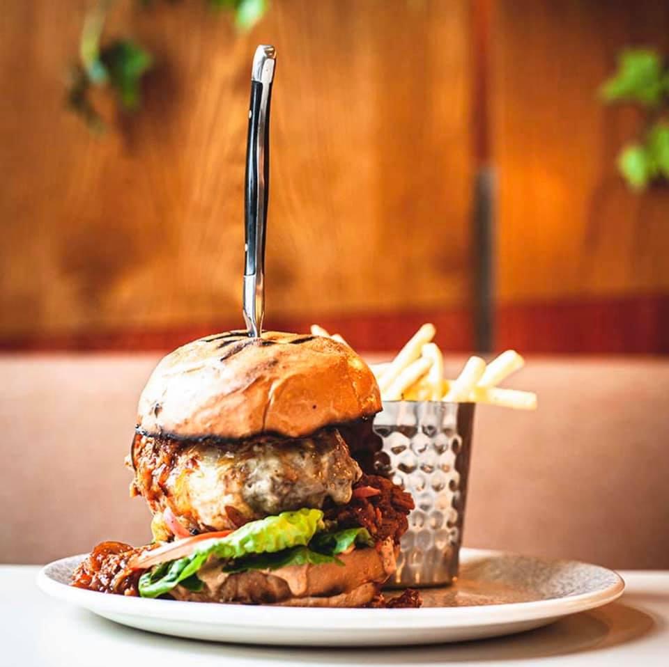 Basils burger