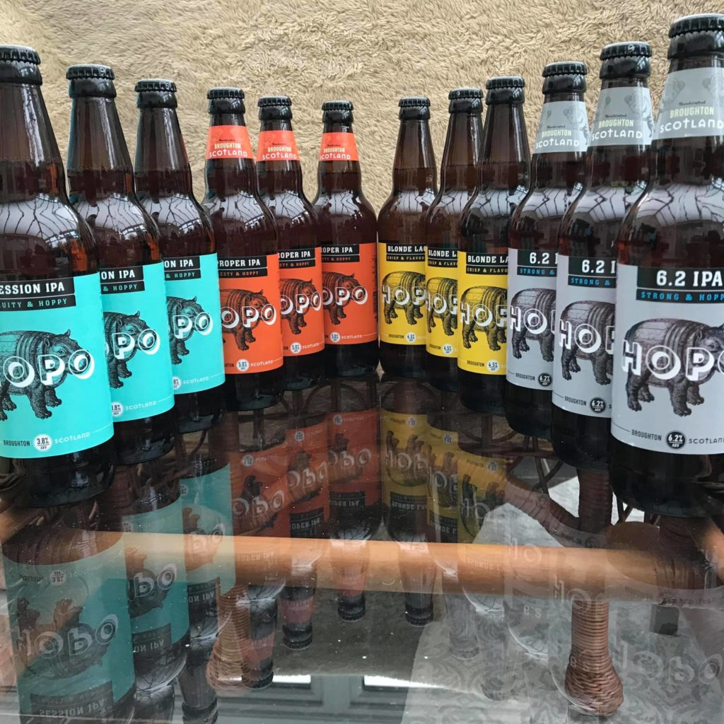 Hopo beer from Broughton