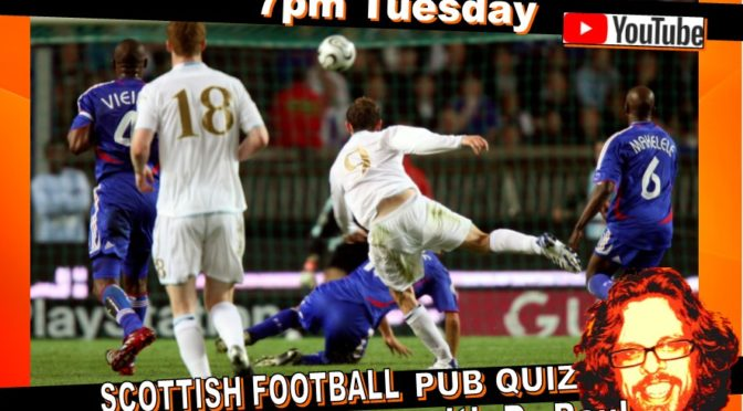 Scottish Football Quiz