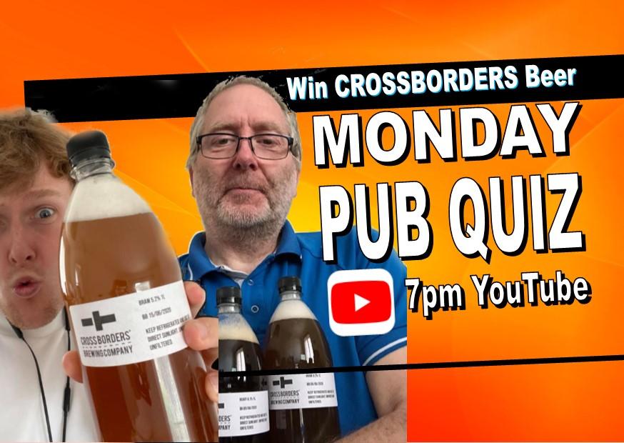 Online Pub Quiz TONIGHT