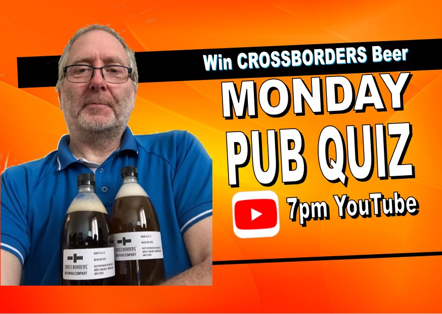 Monday Quiz at 7pm