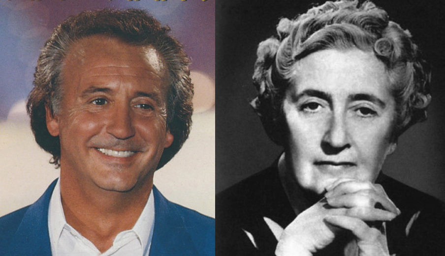 Tony Christie and Agatha Christie. Can you a resemblance?