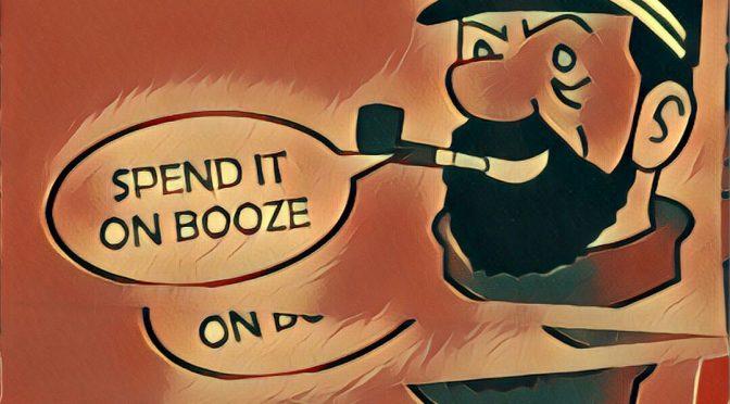 Winners advice from Captain Haddock