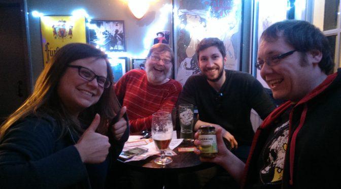 Sunday Night Pub Quiz Scene