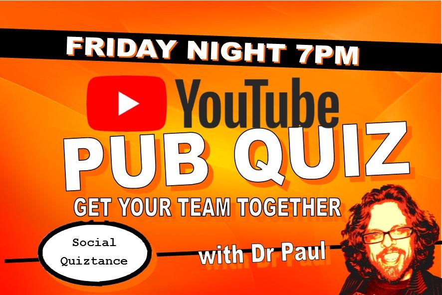 Live Friday Pub Quiz