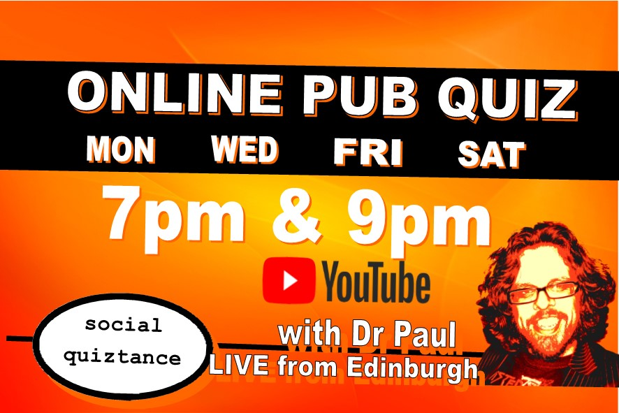 Quizzes Tonight Live on YouTube